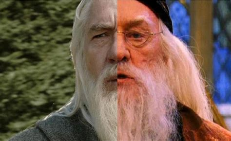 actor who plays gandalf and dumbledore dumbledore ile gandalf yer değiştirse orta d 252 nya ve