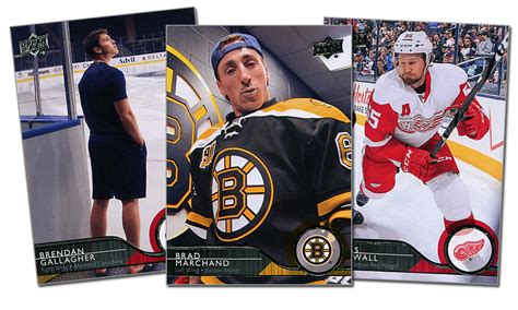 how to make a hockey card best of the worst 2014 15 deck series 1 hockey