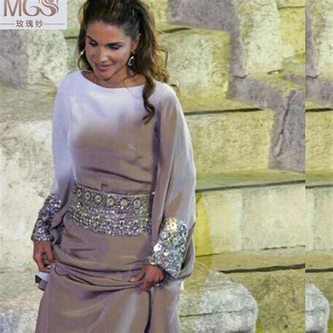 Farah Dress Silver Gamis Muslim new arrival fashionable 2016 mgs muslim evening dresses arabic dubai kaftan floor length silver