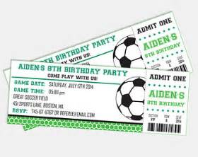 7 best images of soccer ticket invitations templates free