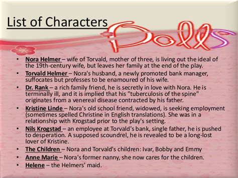 a doll s house wife quot a doll s house quot henrik ibsen