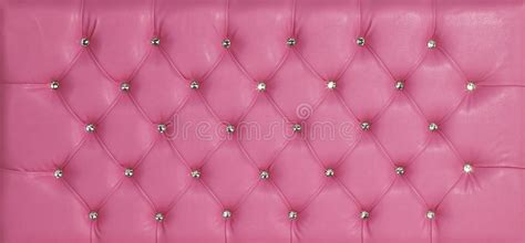 Diamante Luxury Pink pink luxury leather studded background stock image