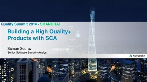 Benefits Of Building High Quality Building A High Quality Products With Sca