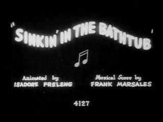 looney tunes sinkin in the bathtub sinkin in the bathtub c 1930 filmaffinity