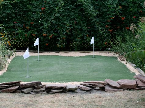 how to build a backyard putting green building a golf putting green hgtv