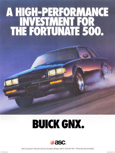 electric and cars manual 1987 buick regal free book repair manuals 1987 buick gnx poster