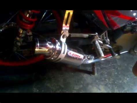 Knalpot Racing Honda Supra X 125 Termignoni Blue High Quality jupiter mx elmer doovi