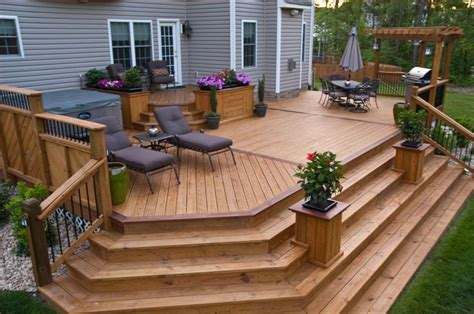 cascading or wrap around stairs joy studio design cascading deck stairs joy studio design gallery best
