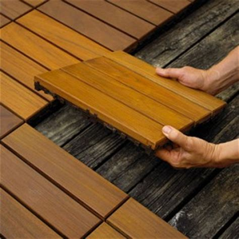 Snap Together Patio Tiles by Easy To Install Decking Tileshome Is Where The Is