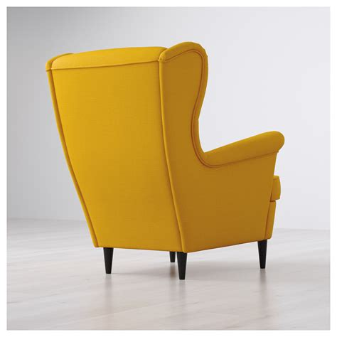 strandmon wing chair cover strandmon wing chair skiftebo yellow ikea