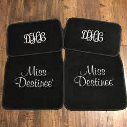 Custom Car Mats With Embroidered Customized by Car Floor Mats With Name Custom Personalized Embroidered