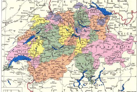 map of switzerland cities detailed administrative map of switzerland switzerland