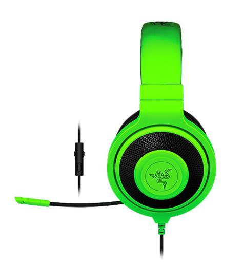 Original Razer Kraken Pro Esports Gaming Headset Green Rz04 razer kraken pro esports gaming headset headphones with retractable microphone in line volume