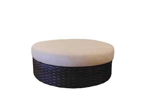 round cushion ottoman lloyd flanders contempo castered round ottoman replacement