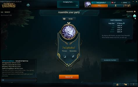 How To Search On League League Of Legends How To Get Ip Fast