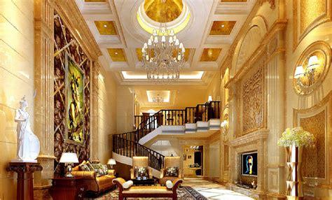 Architectural House Designs 3d Design Luxury Golden European Villa