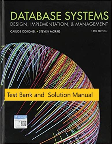 Test Bank For Database Systems Design Implementation