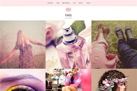 themes girly girly feminine wordpress theme wordpress blog themes