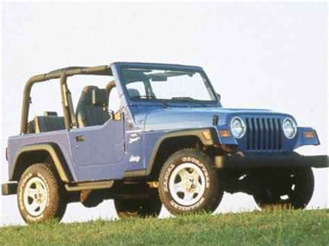 1998 jeep wrangler pricing ratings reviews kelley blue book