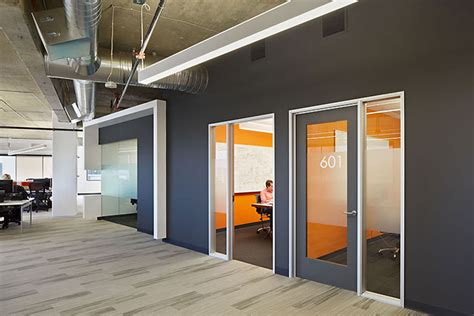 Orange Office by Office Designs For Tech Companies Silicon Valley