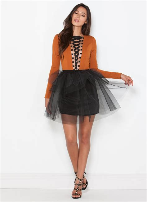 Tutu And Co Foxy Black Bracelet tutu to be true tiered tulle skirt black gojane