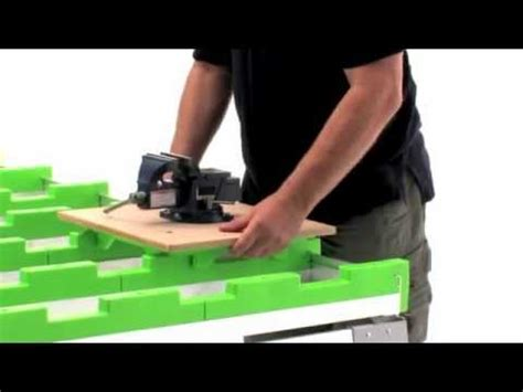 benchmark portable work bench benchmark portable work table work bench cutting table youtube