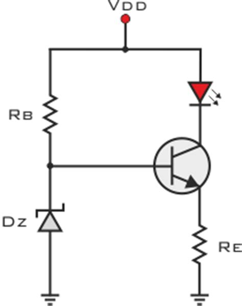 zener diode current source simple transistor circuit simple free engine image for user manual