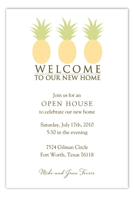 invitation card for new home welcome to our new home invitation polka dot invitations