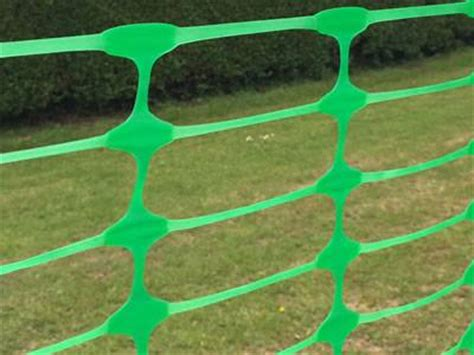 plastic barrier fence mesh  oval opening
