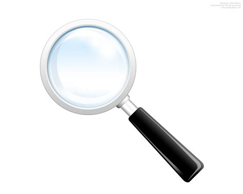 Lookup Records Search Icon Psd Magnifying Glass Psdgraphics
