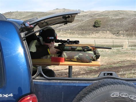 hitch mounted shooting bench shooting off the varmint hunter hq tow hitch bench