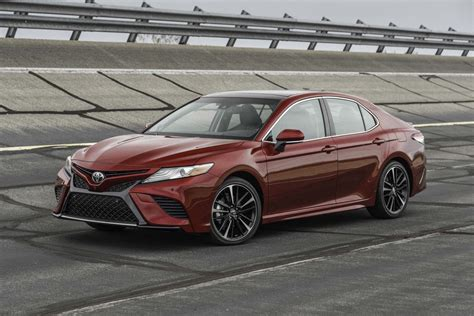 motor cars toyota 2018 toyota camry first drive review motor trend