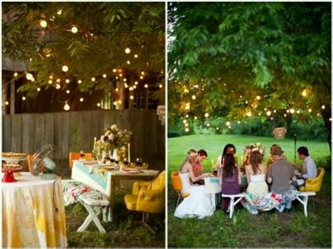 Casual Wedding Ideas Backyard Backyard Rehearsal Dinner Casual Wedding Ideas