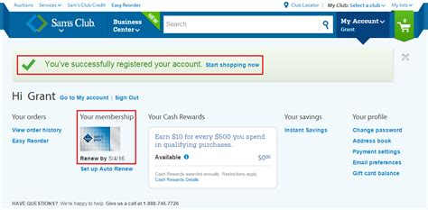 Can A Sam S Gift Card Be Used At Walmart - sam s club membership and complete amex offer ordering process