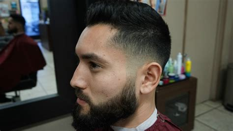 fading sideburns into beard how to blend your skin fade into your beard step by step