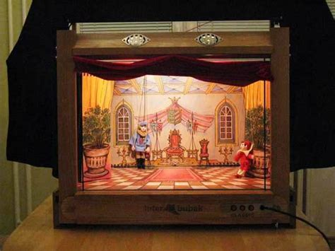 layout view show marionette portable wooden puppet theater to buy online size 47
