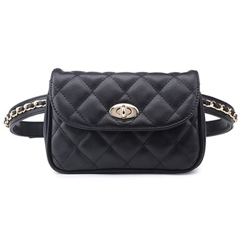 Tas Wanita Handbag Bonia 2 In 1 D2839 B tas pinggang wanita luxury waist bag 1534 black