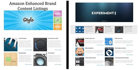 Expertly Written Amazon Enhanced Brand Content Listing Product Pages Enhanced Brand Content Templates