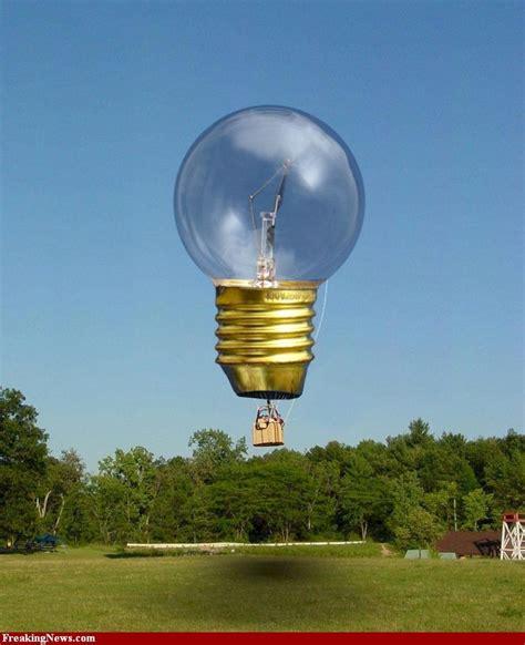 Light Bulb Air Balloon light bulb air balloons