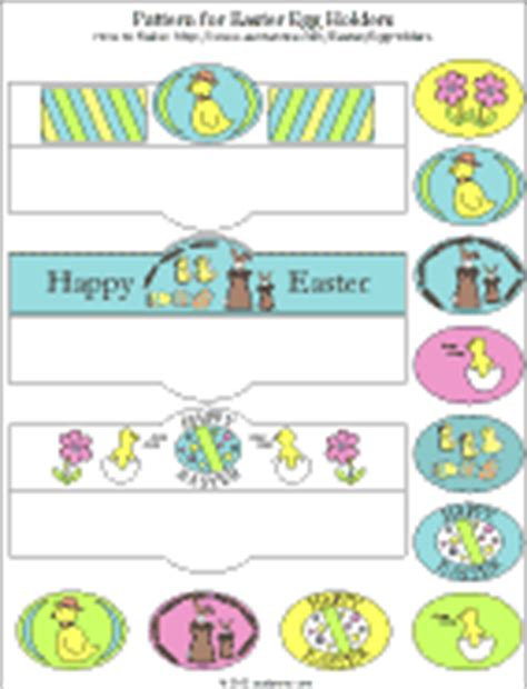 how to make easter egg holders easter and spring crafts