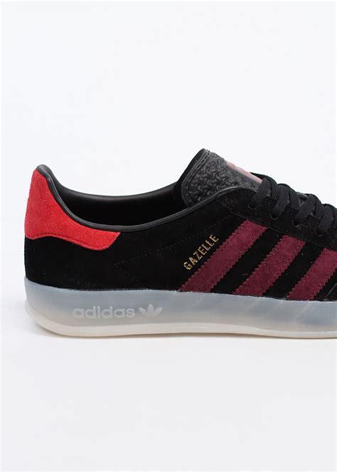 Jaket Casual Original Reebok Element Stripe Hodie Abu Merah adidas originals gazelle indoor trainers black light maroon