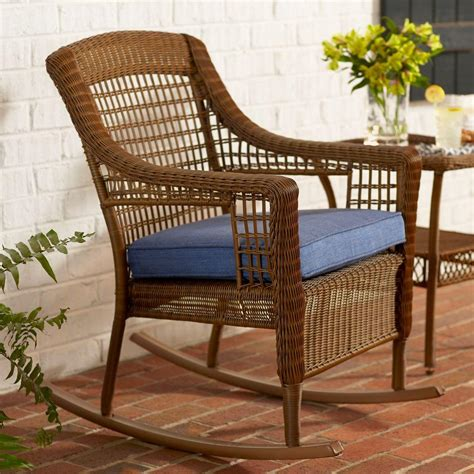 Outdoor Patio Rocking Chairs by Wicker Patio Furniture Rocking Chairs The Home Outdoor