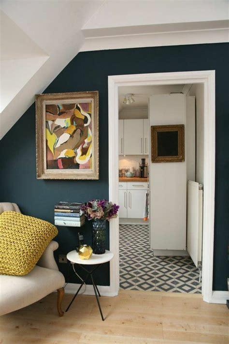 Blue And Yellow Bedroom w 228 nde streichen ideen in dunklen schattierungen