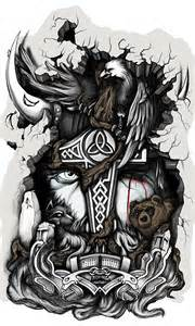 odin tattoo tatto odin by mstibog on deviantart