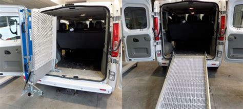 auto usate per disabili con pedana renault trafic usato per trasporto disabili focaccia
