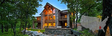 Log Cabins Near Birmingham by Alabama Log And Timber Frame Homes