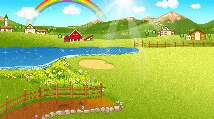 imagenes de paisajes animados paisajes animados de disney con movimiento fondos de