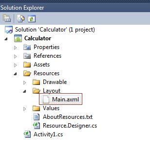 calculator xml microsoft technologies data simple calculator using mono