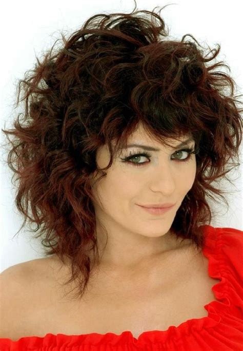 rebond c curls for medium length hair images beautiful and cute shaggy hairstyles for women fashion