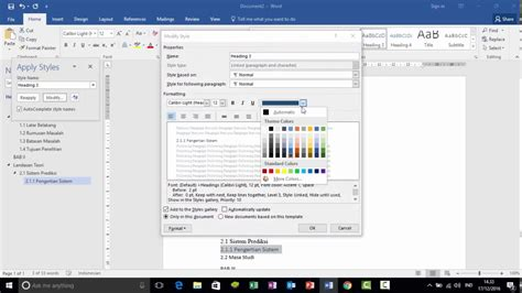 membuat daftar hadir otomatis dengan microsoft excel cara membuat daftar isi otomatis dengan ms word 2016